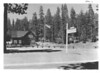 Administration building and headquarters area near Mineral, California. Lassen Volcanic National Park, 1934.