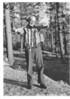 Fish from Manzanita Lake. Mr. E. V. Kellop of Redding, California. Lassen Volcanic National Park, 1941.