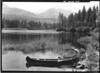 Ready to canoe on Butte Lake, Lassen Volcanic National Park, 1941.