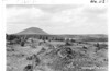 View of Dome Mountain, Lava Beds National Monument, 1941.
