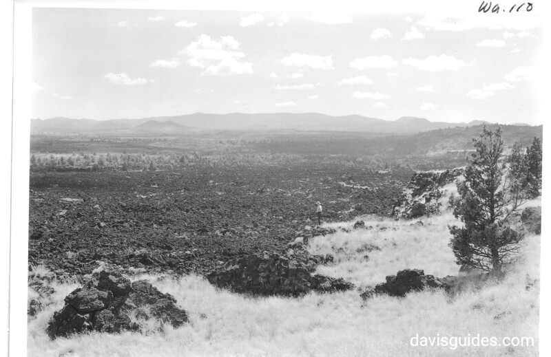 Devil's Homestead and Stygian Shore, Lava Beds National Monument, 1941.