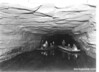 Boats on Echo River (underground), Mammoth Cave National Park, 1935.