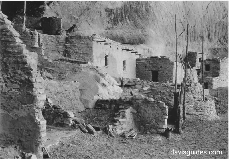 Main part of Betatakin Ruin, Navajo National Monument, 1935.