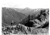 View of Seattle Creek toward Mount Munscaster from the High Divide. Proposed Olympic National Park, 1934.