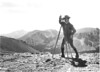 "Engineer on the new road, ""Trail Ridge"". Rocky Mountain National Park, 1932."