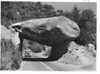 Tunnel Rock on the Ash Mountain - Giant Forest Highway. Sequoia and Kings Canyon National Parks, 1940.