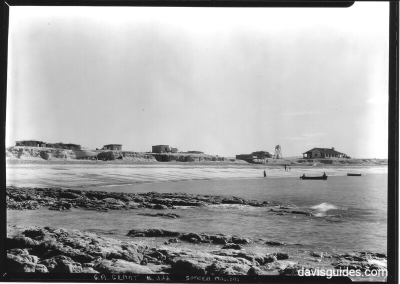 Beach on the Gulf of California. Sonora Mexico Expedition, 1935.