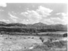 The upper valley of the Cocospera River from the mission site. Sonora Missions Expedition, 1935.
