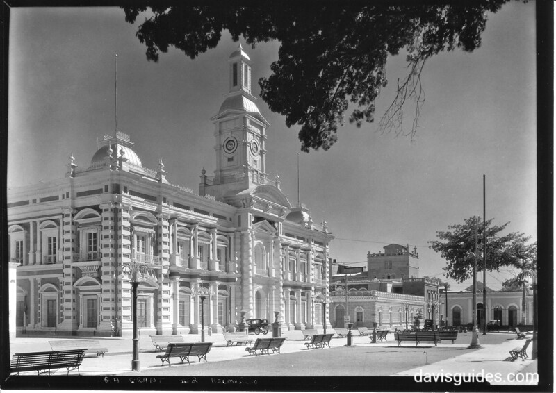 State government palace, Hermosillo, Mexico. Sonora Missions Expedition, 1935.
