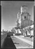 Side view of Mission San Xavier del Bac. Sonora Mission Expedition, 1935.