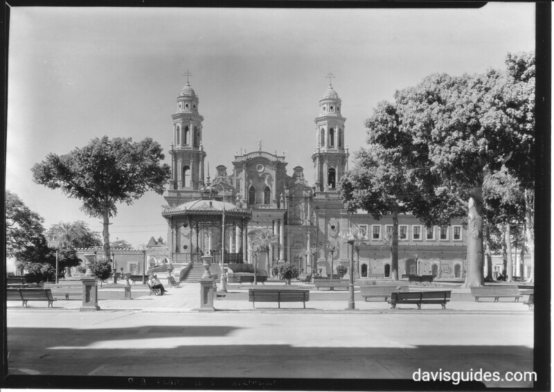 Catedral Metroplitana de Hermosillo, Mexico. Sonora Missions Expedition, 1935.