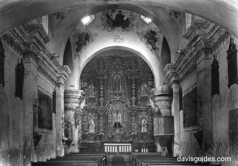 Mission San Xavier del Bac near Tucson, Arizona. Tumacacori National Historical Park, 1929.