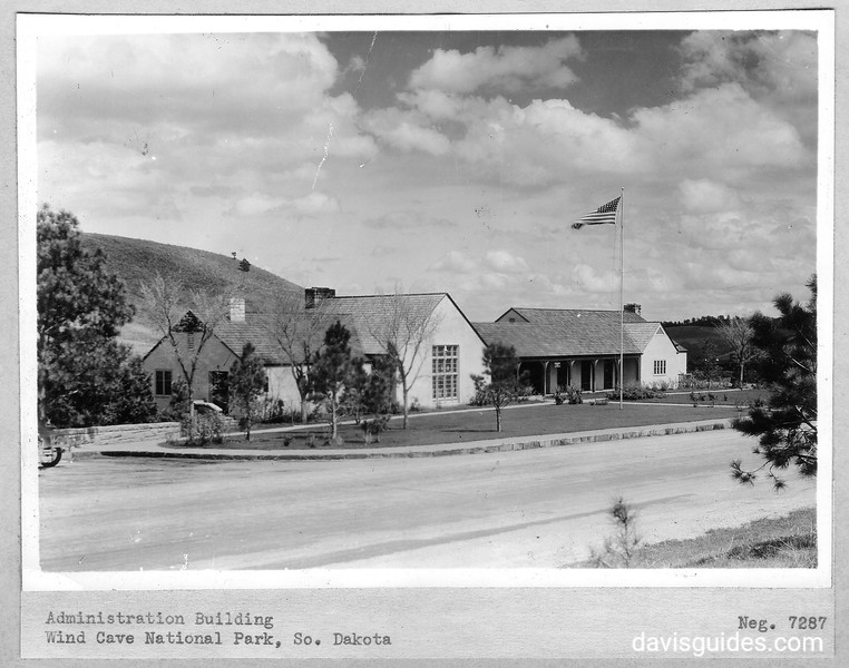 Administration Building. Wind Cave National Park, 1936.