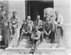 Park ranger staff at Yellowstone. George Grant is seated second from right. Yellowstone National Park, 1922.
