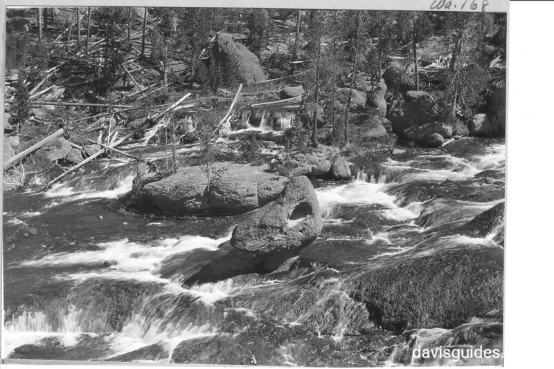 View of head of Rock Creek from the summit of Red Lodge Highway in the Beartooth Mountains, Montana. Yellowstone National Park, 1936.