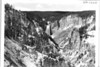 Lower Falls of the Yellowstone River from Point Lookout. Yellowstone National Park, 1936.