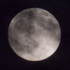Super Moon viewed from Corolla NC on 6/22/13.
