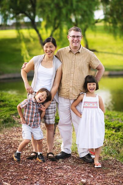 Larratt- Smith Family 2015