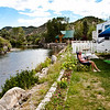This camp site at Four Seasons RV in Salida, CO, is one of the best anywhere. There is a rumor that Rainbow and Brown Trout live in this, the Arkansas, river. From my experience of flailing the river with different offerings, it is just a rumor. Fish don't take me seriously.