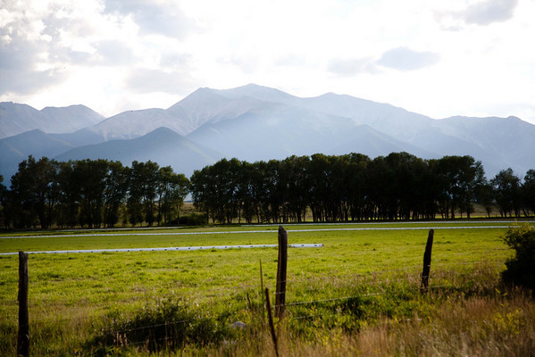 Collegiate Range mountain scene SW of Buena Vista, CO. September, 2010.