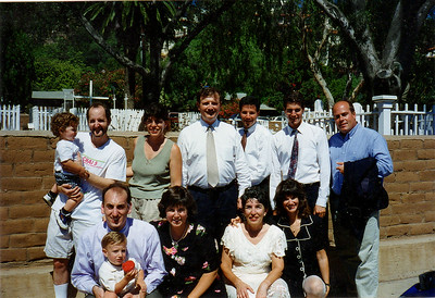 Wedding -  Larry and Sandra 1996