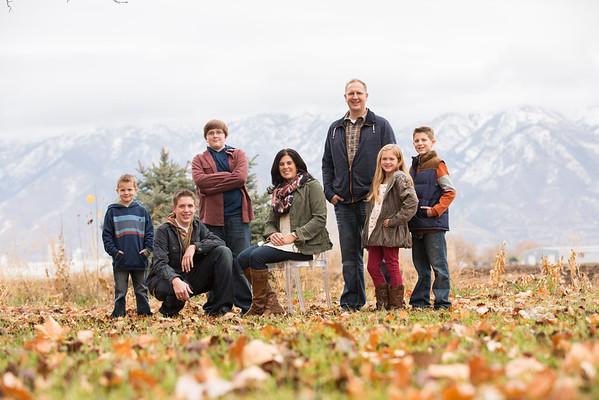 Larsen family 2013