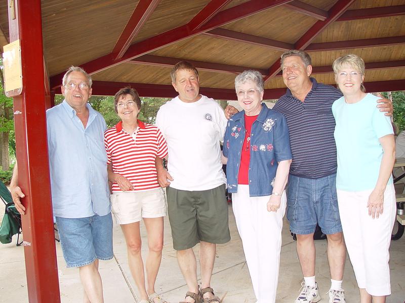 Bill, Nancy, Danny, Jeanne, Carly and Bette