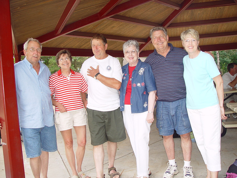 Bill, Nancy, Danny, Jeanne, Carly and Bette