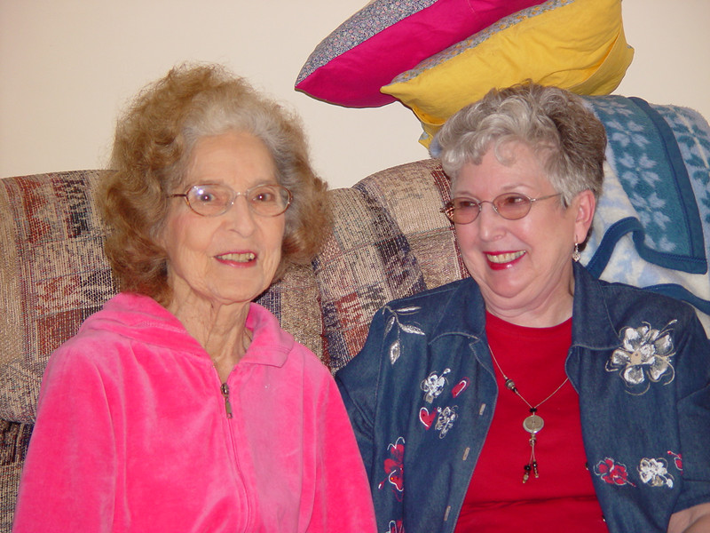 Aunt Dory and Jeanne