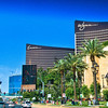 The Las Vegas Strip - The Wynn and Encore Las Vegas Hotels