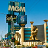The Las Vegas Strip - The MGM Grand Hotel