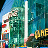 The Las Vegas Strip - Giant Coke bottle