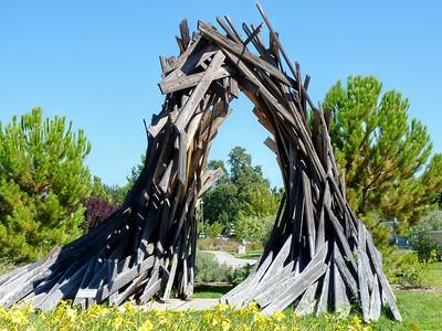 Redding City Hall Sculpture Garden