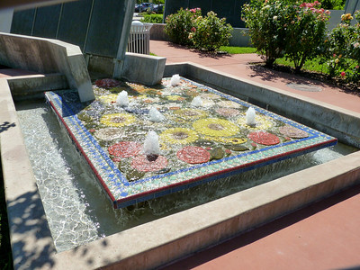 Redding City Hall Fountain