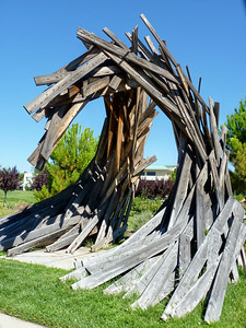 Redding City Hall Sculpture Garden