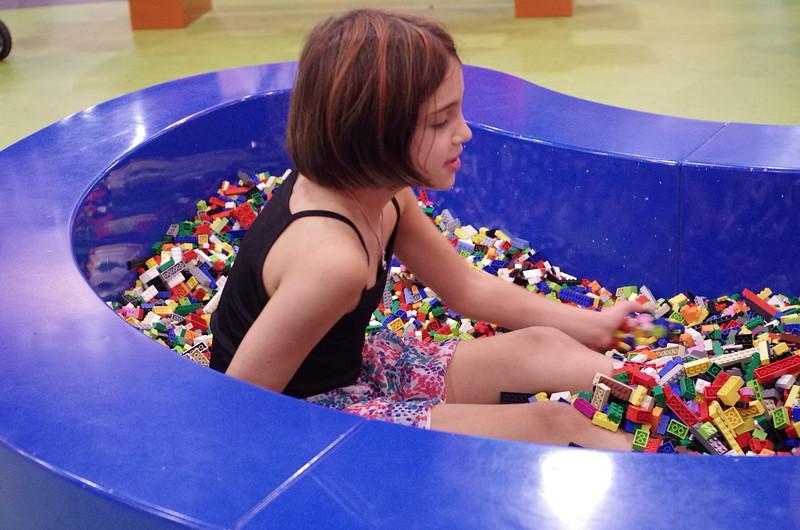 Lego bath.