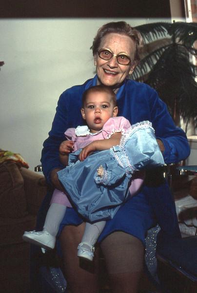 Mrs Miller with Lauren