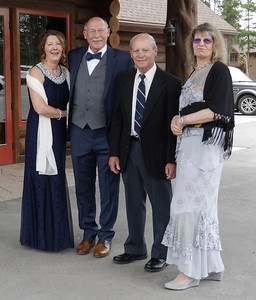 The Wedding - Katie, Al, Dave, and Rena before the ceremony.