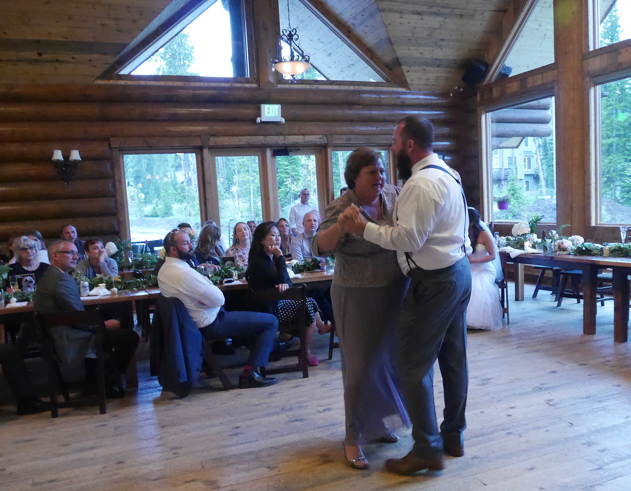 The Reception - Wedding Dance with Mom.