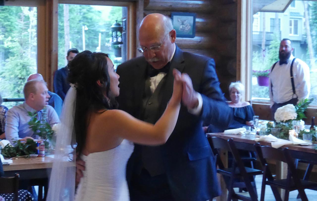 The Reception - Wedding Dance. Cousin Allan is quite a smooth dancer.