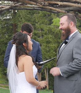The Wedding - They look so happy and so connected.