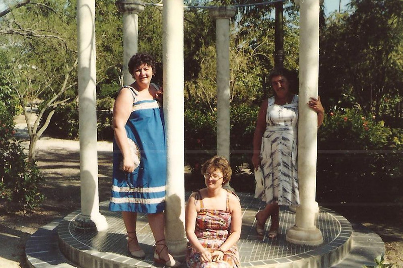 Laurie Ann, Glenys Jackman, Gertrude Griffin