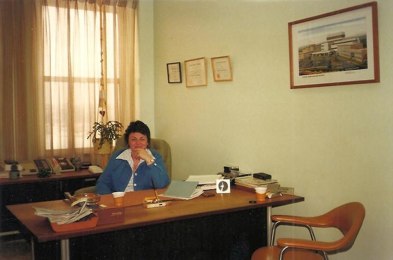 Administator's Office, Grand Falls Hospital