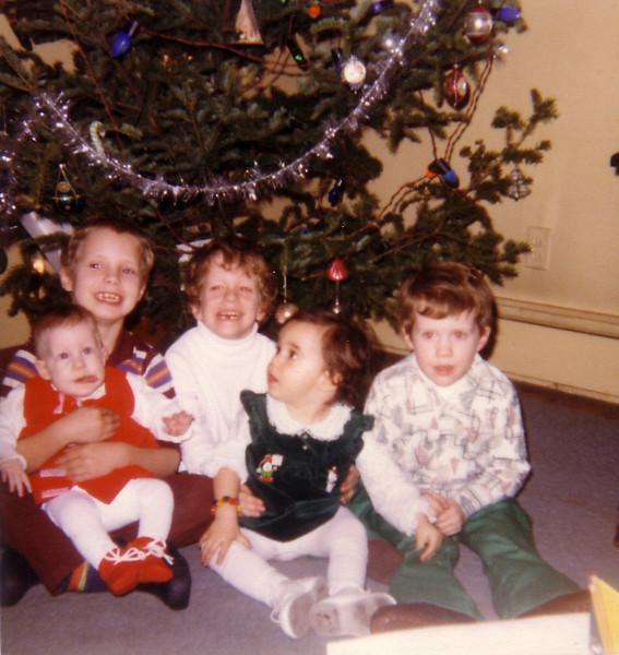 Jackie, John P, John J, Willa, Matt at Riverview Terrace