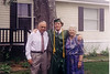 Matt w/ Grandpa and Grandma Johnston