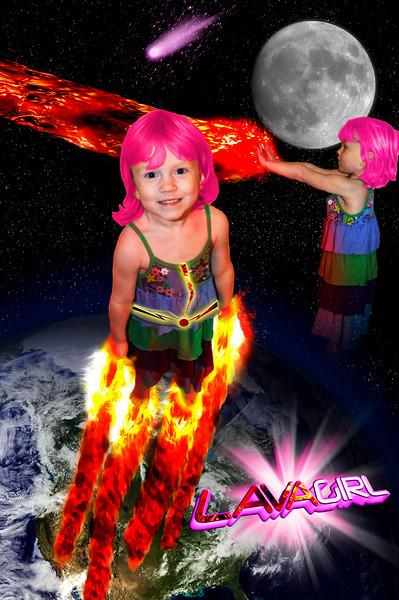 Lava Girl!