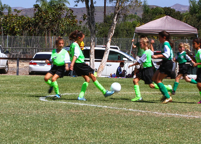 Layla & Sienna's Soccer Games 8-29-2015