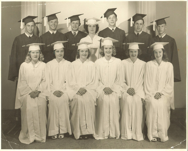 1949-50 Emmet High Schol Arkansas<br /> Alice Mae Dougan - Front Row, Second from the Right (with glasses on)
