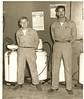 Calvin (Red) Leach                            <br /> 1949 Porter Harrison Service Station in Glendale.