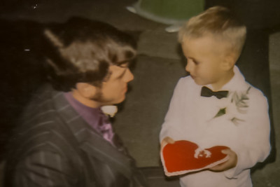 "Ring Bearer's Last instructions... ""Walk, Hold Rings"" . October 9, 1971"